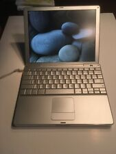 """Apple PowerBook A1010 12.1"""" Laptop - M9007LL/A (September, 2003) Mac OS X 10.5.8"""