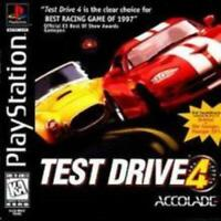 Test Drive 4 Playstation Game PS1 Used Complete