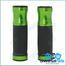 Green Motorcycle Handlebar Grips ideal for Kawasaki Ninja 1000 250R 300 650 ZX