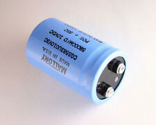 2x 58000uF 10V Large Can Electrolytic Capacitor 10 Volts 58000mfd 10VDC 58,000