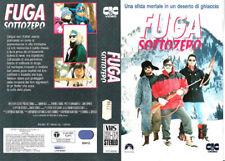 FUGA SOTTOZERO (1990)  VHS CiC - T.J. Wright