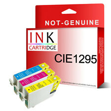 3 NON-OEM CHEAP QUALITY INK CARTRIDGES REPLACE FOR T1292 T1293 T1294