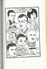 MILTON CANIFF High School Yearbook Early Artwork