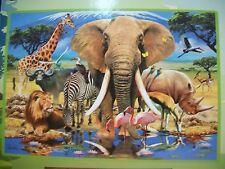 Safari Adventure 1000 pcs Animal Planet Puzzle Masterpieces