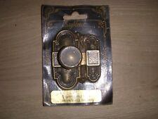 Targette PERLE decor vieux bronze