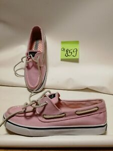 SPERRY TOP SIDER Schnürschuhe Schuhe rosa Gr. 38
