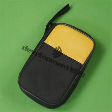 Double Layer Zipper Carrying Case Fluke 15b 17b 18b 115 116 117 175 Multimeters