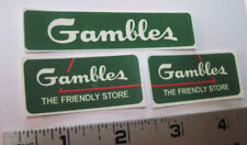 Replacement water slide decal set for Tonka Gambles truck