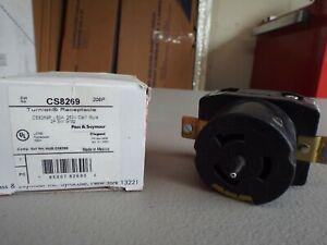 Pass & Seymour CS8269 - Turnlok Receptacle 50A, 250V California Style