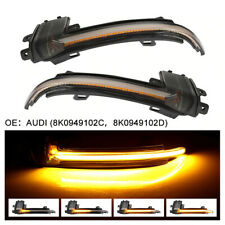 Dynamic LED Turn Signal Lights Rearview Mirror Indicator For Audi A4 A5 B8.5 RS5