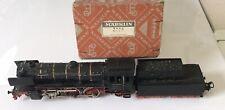 MARKLIN - Vecchia locomotiva nera con tender anno 1959 n.3005 con scatolo origin
