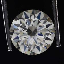 Lovely 2.10 Carat Round Brilliant Cut White Color VVS Clarity Moissanite Diamond