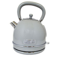 Charles Bentley Cordless Kettle in Grey Made of Stainless Steel - 3kW - 1.7 Ltr
