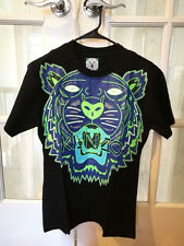 Kenzo Paris T-shirt Tiger Jungle 100% NWT. size EU L SLIM FIT GLOW IN DARK