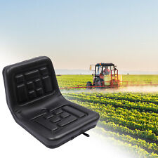 More details for adjustable tractor seat thickly- padded seat w/ drain hole & sliding track