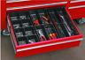 3 Piece 14 Compartment Drawer Organizer Set Tool Box Garage Shop Draw Trays