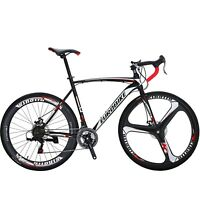 XC550 Road Bike 21 Speed Racing Bicyle Mens bikes Disc Brakes Sports cycling