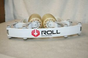 Roll Recovery R8 Deep Tissue Massage Muscle Roller White