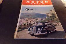 Vintage Motor Revue Magazine Europa Motor BMW FIAT 1954  Car & Motorcycle Racing