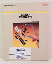 1986 NEC Linear Products Data Book, 303 pp