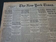 1930 DECEMBER 2 NEW YORK TIMES - STALIN DOMINATION REVEALS COMINTERN - NT 5629