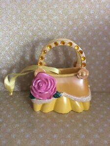 Disney Belle Beauty And Beast Handbag Ornament Decoration Boxed
