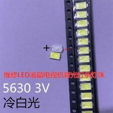 50PCS SAMSUNG 5630 6030 TV 5730 LED Backlight 0.5W 5630 3V Cool white LCD