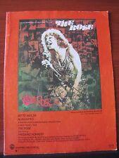 The Rose - 1977 sheet music - Bette Midler