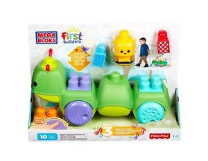 Mega Bloks First Builders Move 'n Groove Discoveries Caterpillar Building Set