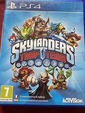 Skylanders Trap Team ps4 Juego (disco solamente)