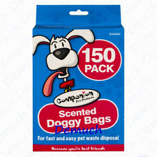New 150 Scented Pet Waste Bags Dog Cat Poo Disposal Scoop Doggy Poop Bag UK✔
