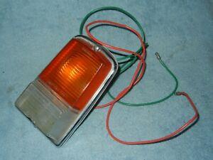 Lucas L662 Sunbeam Hillman Turn Light Assembly Clear Amber