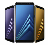 Samsung Galaxy A8 A8 2018 32GB Unlocked Smartphone GRADED