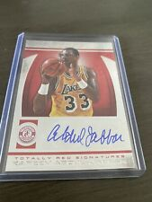 🔥 2013-14 Totally Certified Basketball Totally Red Auto #26 KAREEM #'d10!🔥