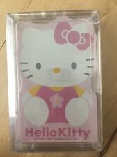 Sanrio Hello Kitty Friends Paper Poker Playing Cards Plastic Case Sealed New