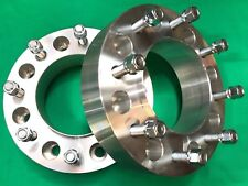 """2"""" WHEEL SPACERS 2005 - 2018 Ford F350 DUALLY 8X200 Hub centric 14mm x 1.5 studs"""