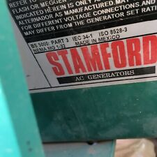 New Listing44kw Stamford Generator 208v 380v Cummins Used Unkown Condition For Parts