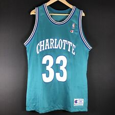 NEU Champion USA Alonzo Mourning Hornets NBA Basketball Jersey Trikot Jordan 44