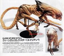 Movie Alien Xenomorph Queen Chest Burster 1/1 Figure Vinyl Model Kit 34 inch