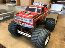 1/10 Scale Vintage Tamiya Clod Buster 4X4X4 R/C Electric Truck AS IS