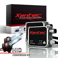 Xentec Xenon Light HID Conversion Kit 60000LM 55W H1 H3 H4 H11 9005 9006 880