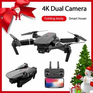 Drone E88 Pro WIFI FPV 4K HD Camera Foldable Selfie RC Quadcopter Aerial Photo~~
