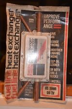 NOS vintage fuel line heat exchanger- as seen on tv- improve combustion save gas