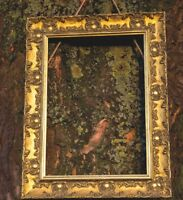 WIDE Ornate Shabby Chic Antique swept Picture frame photo frame  Gold  /MUSE