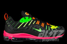 NIKE AIR MAX 98 NEON TOKYO Sz  8-10 CI2291-083 JAPAN ONLY RELEASE