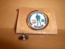 The Devonshire & Dorset Regiment Veteran Lapel pin badge with SA80.