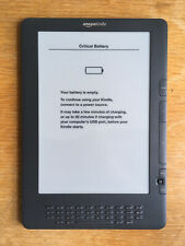 Amazon Kindle DX 3G 9.7in Graphite NEEDS BATTERY but in Great Condition
