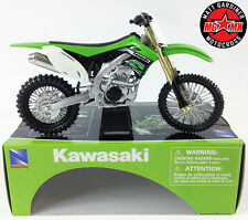 Kawasaki KXF 450 - 1:12 Die-Cast Motocross Mx Motorbike Toy Model Bike New Ray