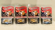 Hot Wheels RLC HWC 32 Ford Hot Rod Duece Coupe. In Hand! LOT OF FOUR