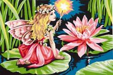 SEG de Paris Tapestry/Needlepoint Canvas – Fairy and the Water Lily - Atlascraft